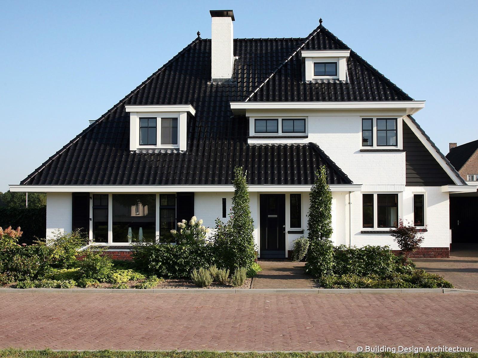 Building design architectuur for Moderne villa architectuur