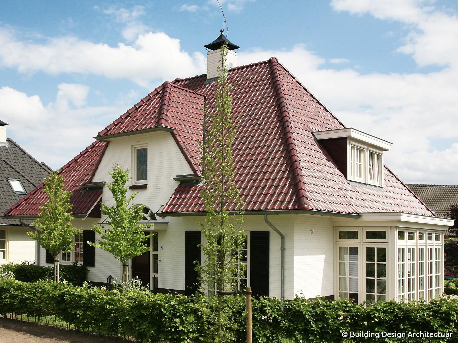 Building design architectuur for Vrijstaand huis achterhoek