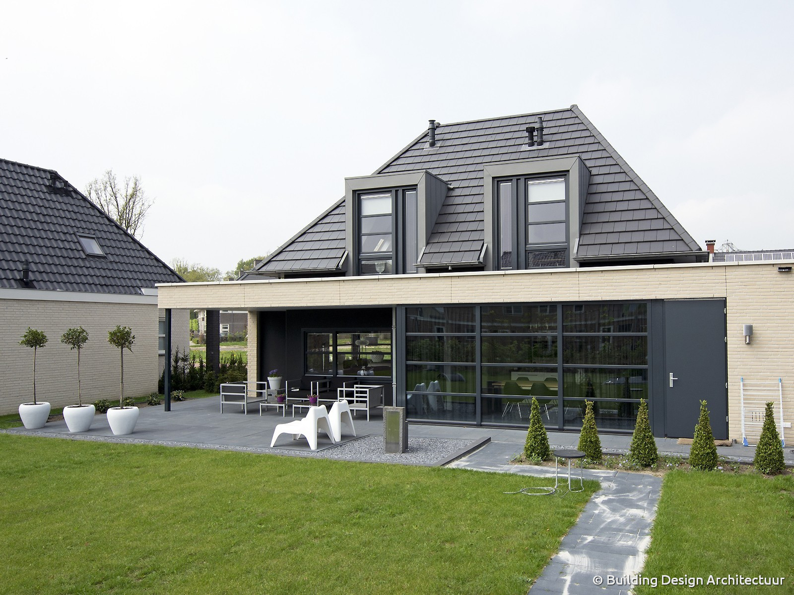 building design architectuur On moderne woning