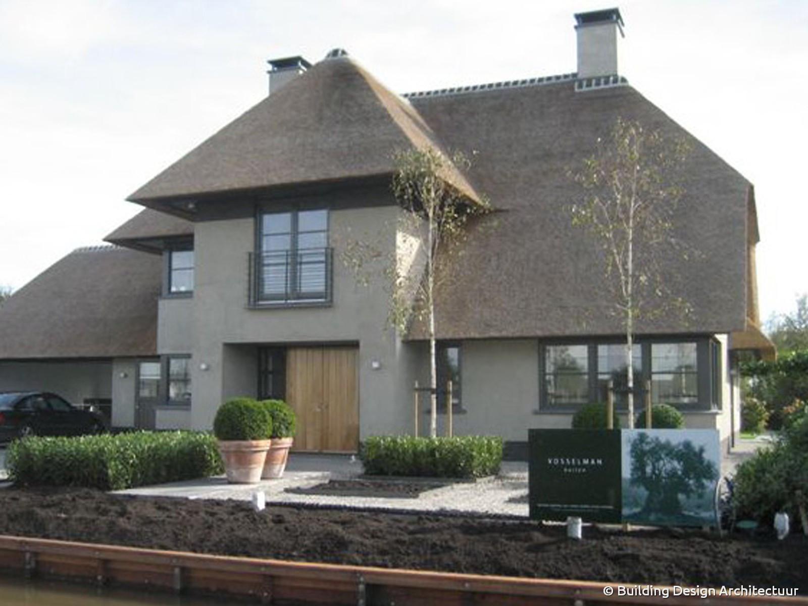 Building design architectuur for Modern herenhuis