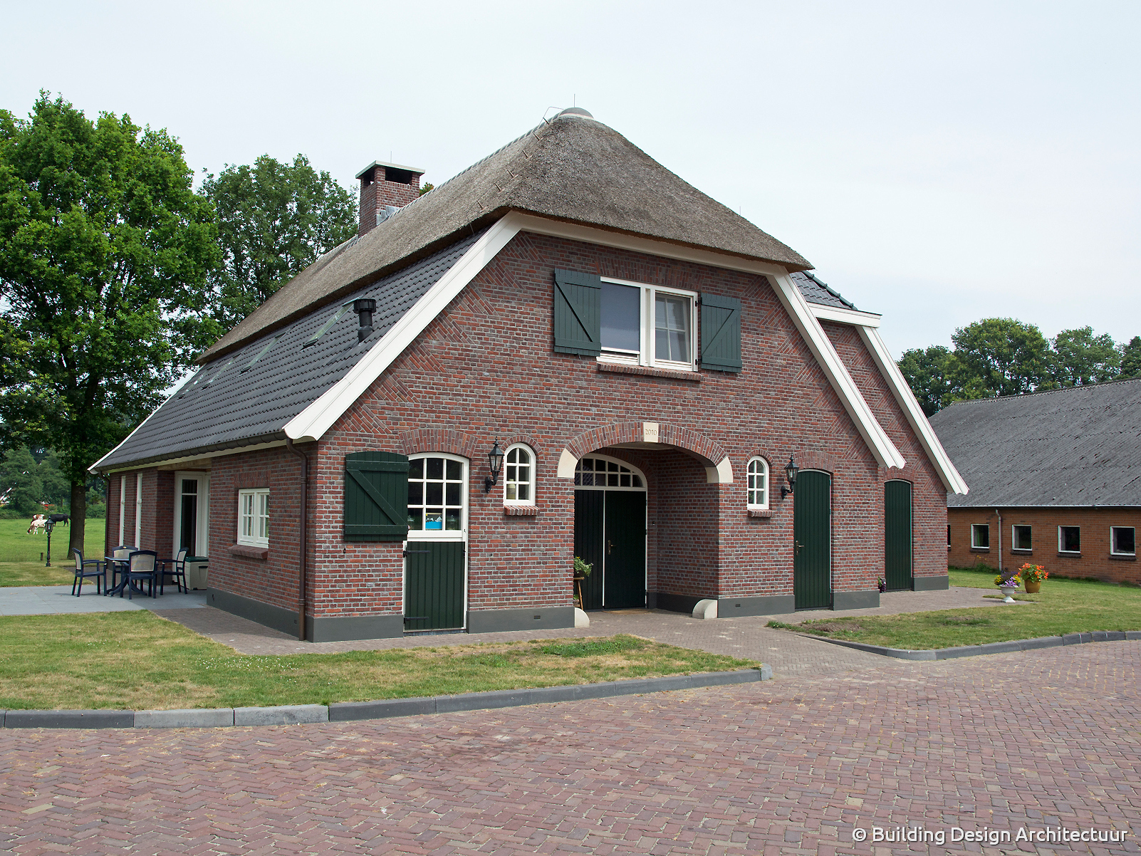 Building design architectuur for Moderne boerderij architectuur