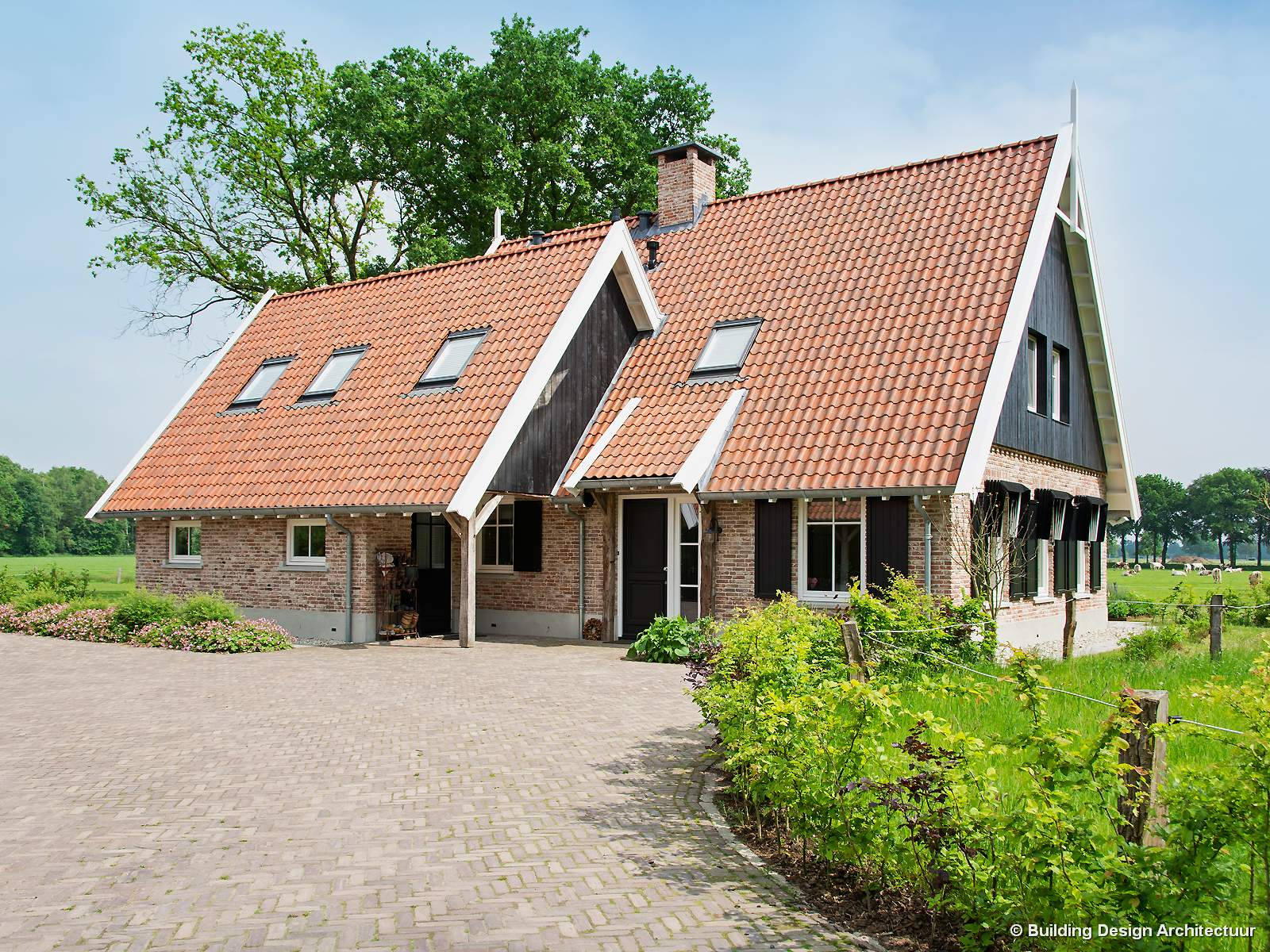 Building design architectuur for Landelijk bouwen architect