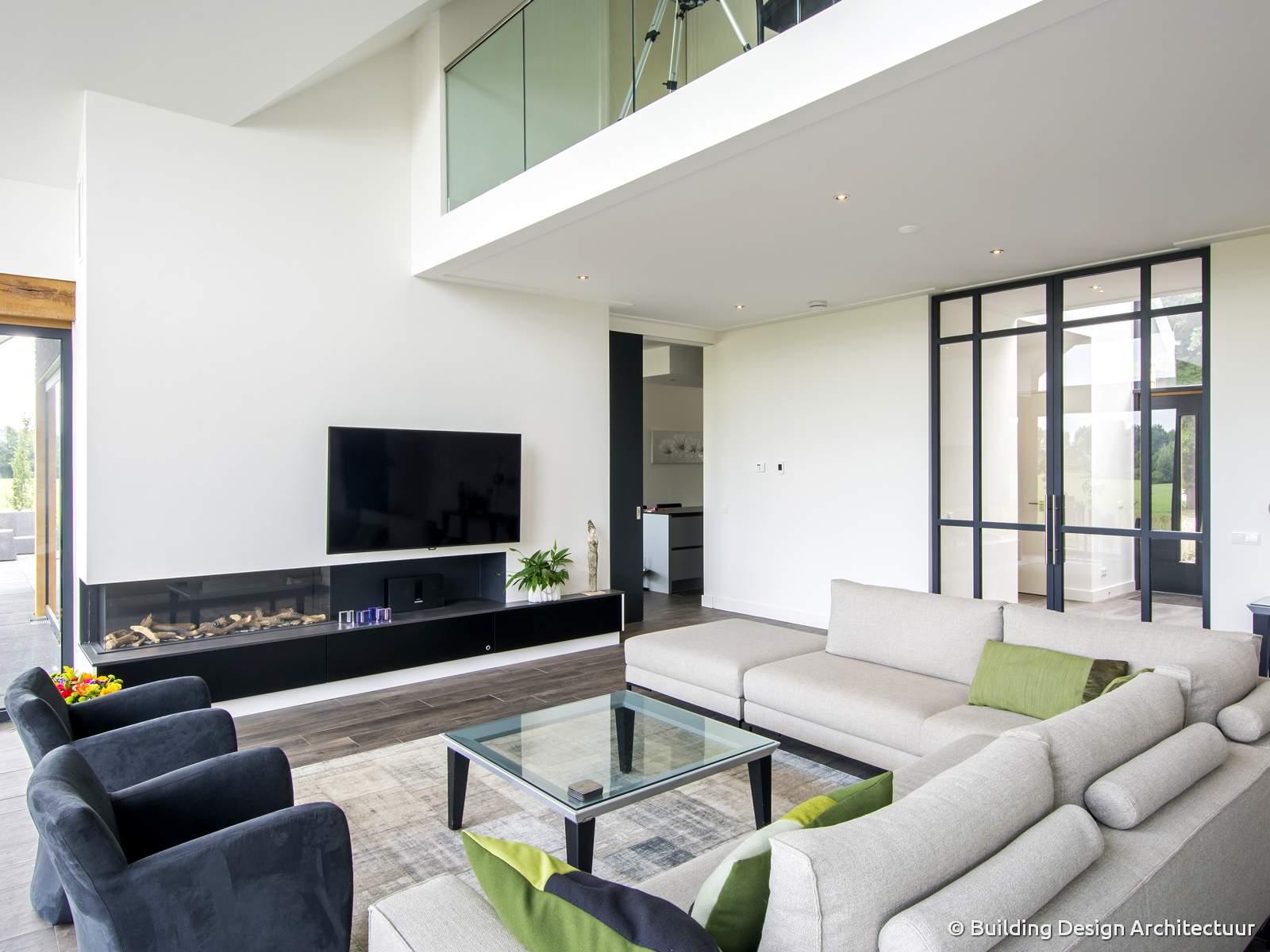 Building design architectuur for Design interieur moderne
