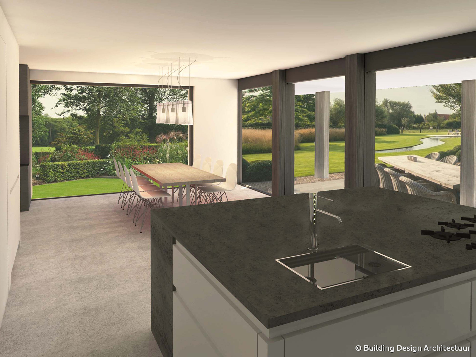 Building design architectuur - Designer huis exterieur ...