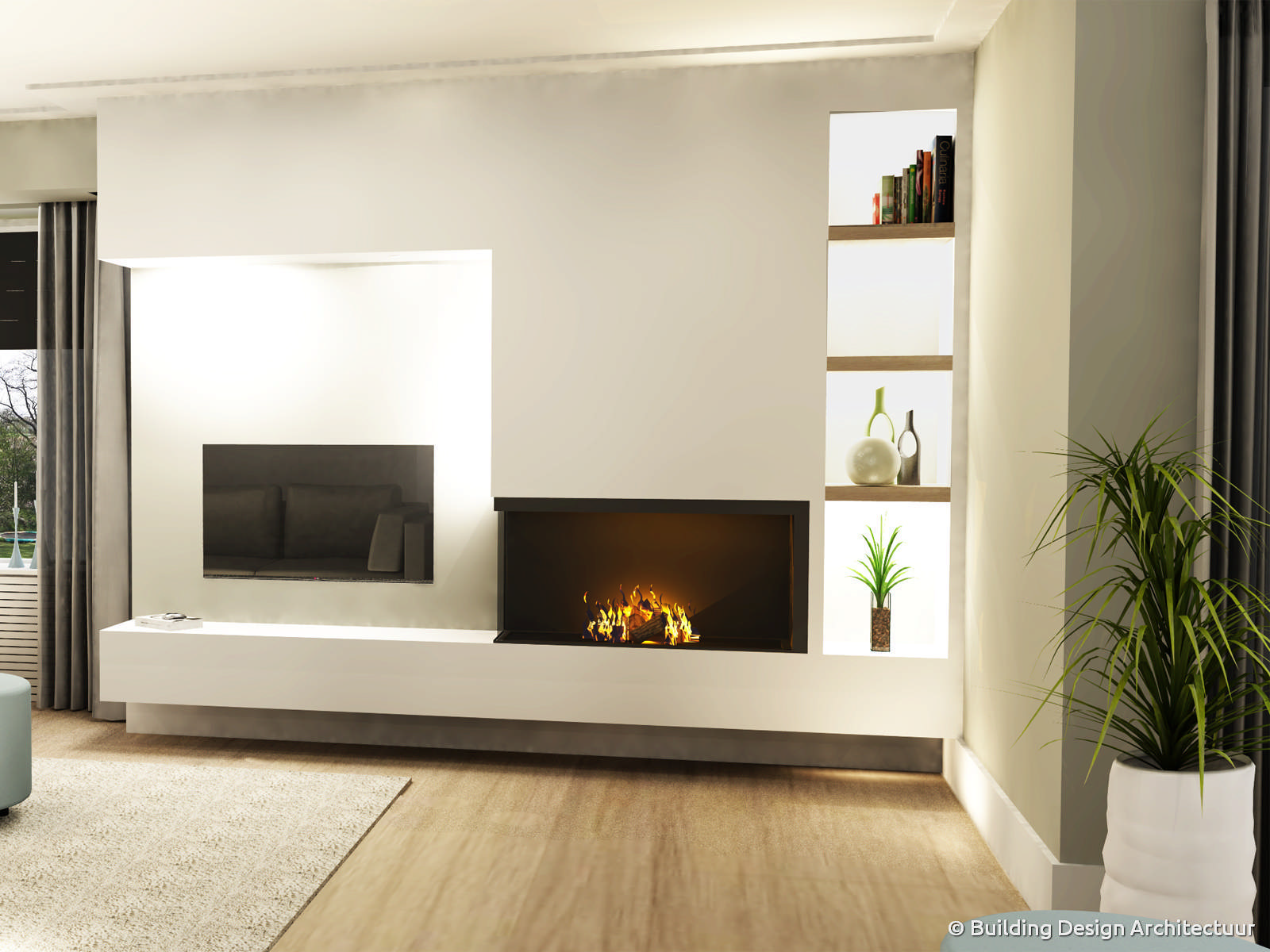 Building design architectuur for Landelijk interieur voorbeelden