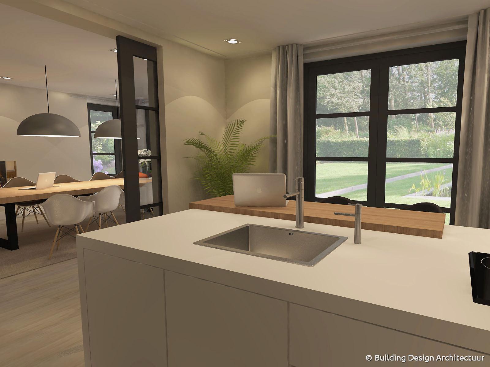 Building design architectuur for Eigentijds interieur