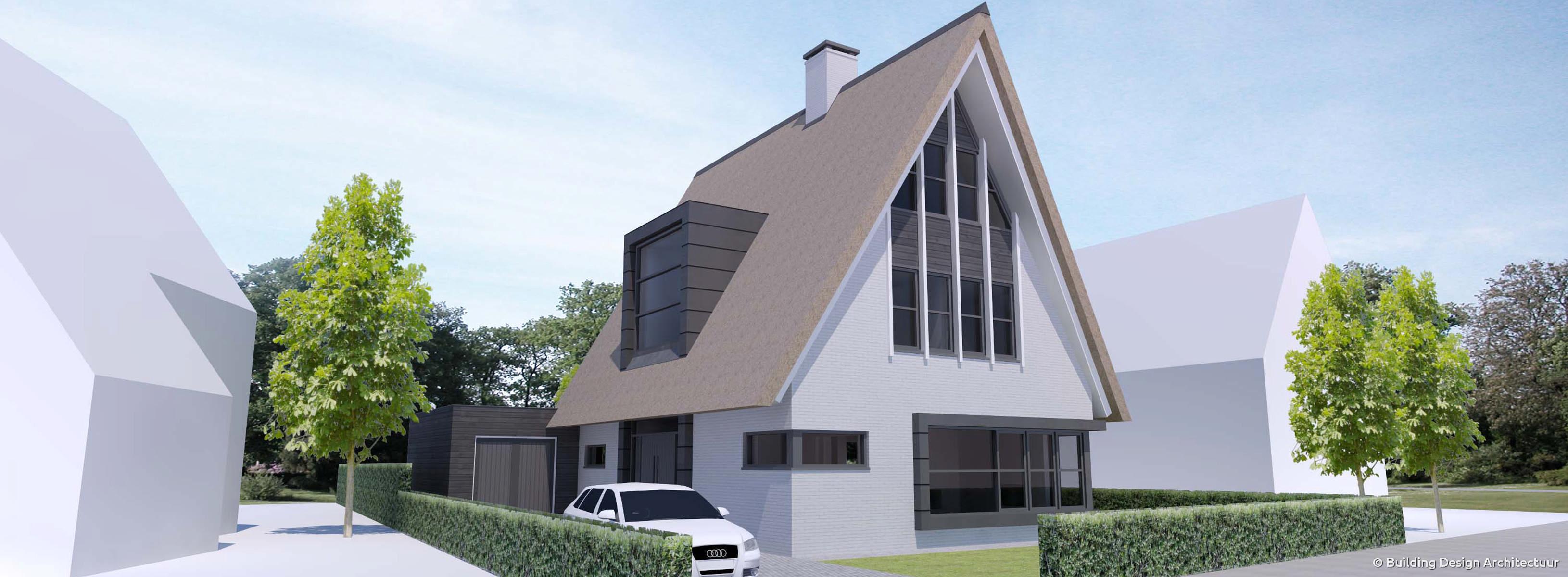 Building design architectuur - Eigentijdse design ingang ...