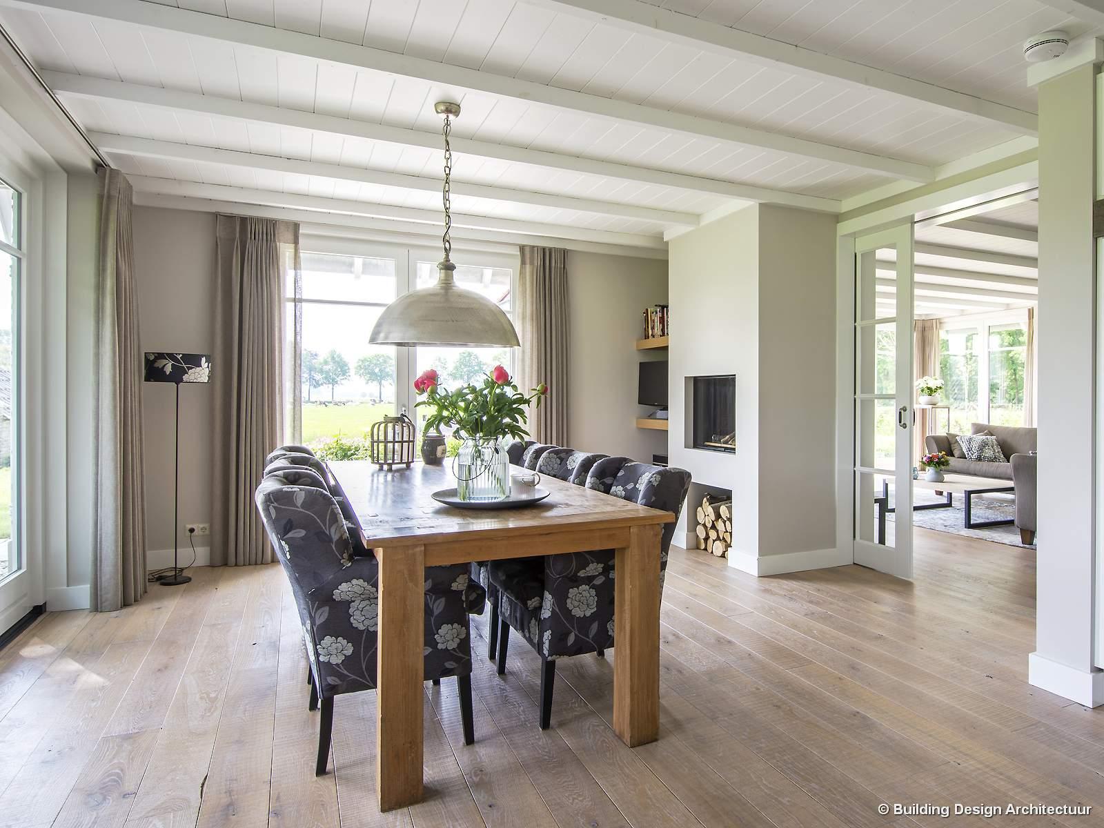 Building design architectuur for Landelijke inrichting huis