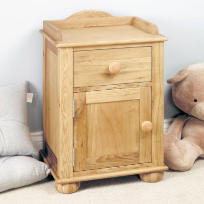 baumhaus amelie childrens oak bedside cabinet cco10a rrp 199 00 189 00save 10 00
