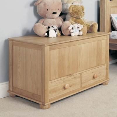 baumhaus amelie childrens oak toy box blanket box cco15a rrp 399 00 389 00save 10 00