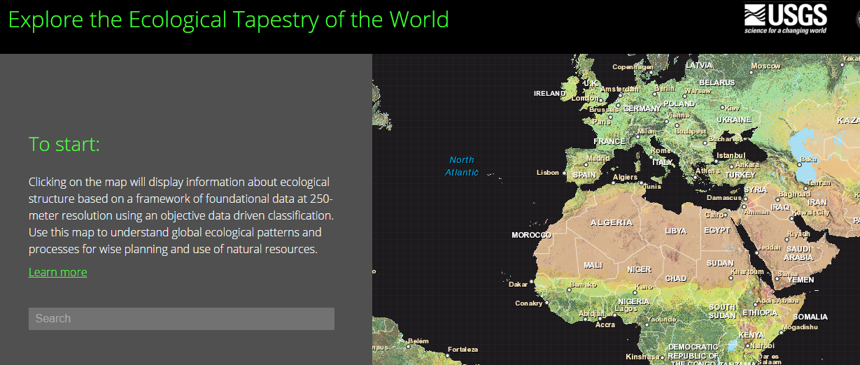 Explore the Ecological Tapestry of the World
