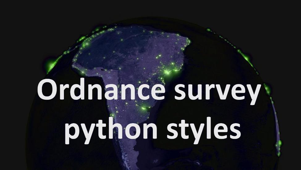 Ordnance survey python styles