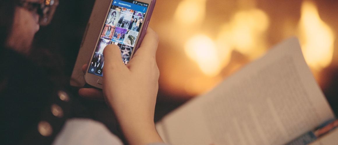 smartphone-en-boek
