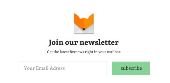 nieuwsbriefblok