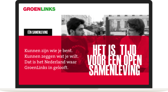 GroenLinks-campagne