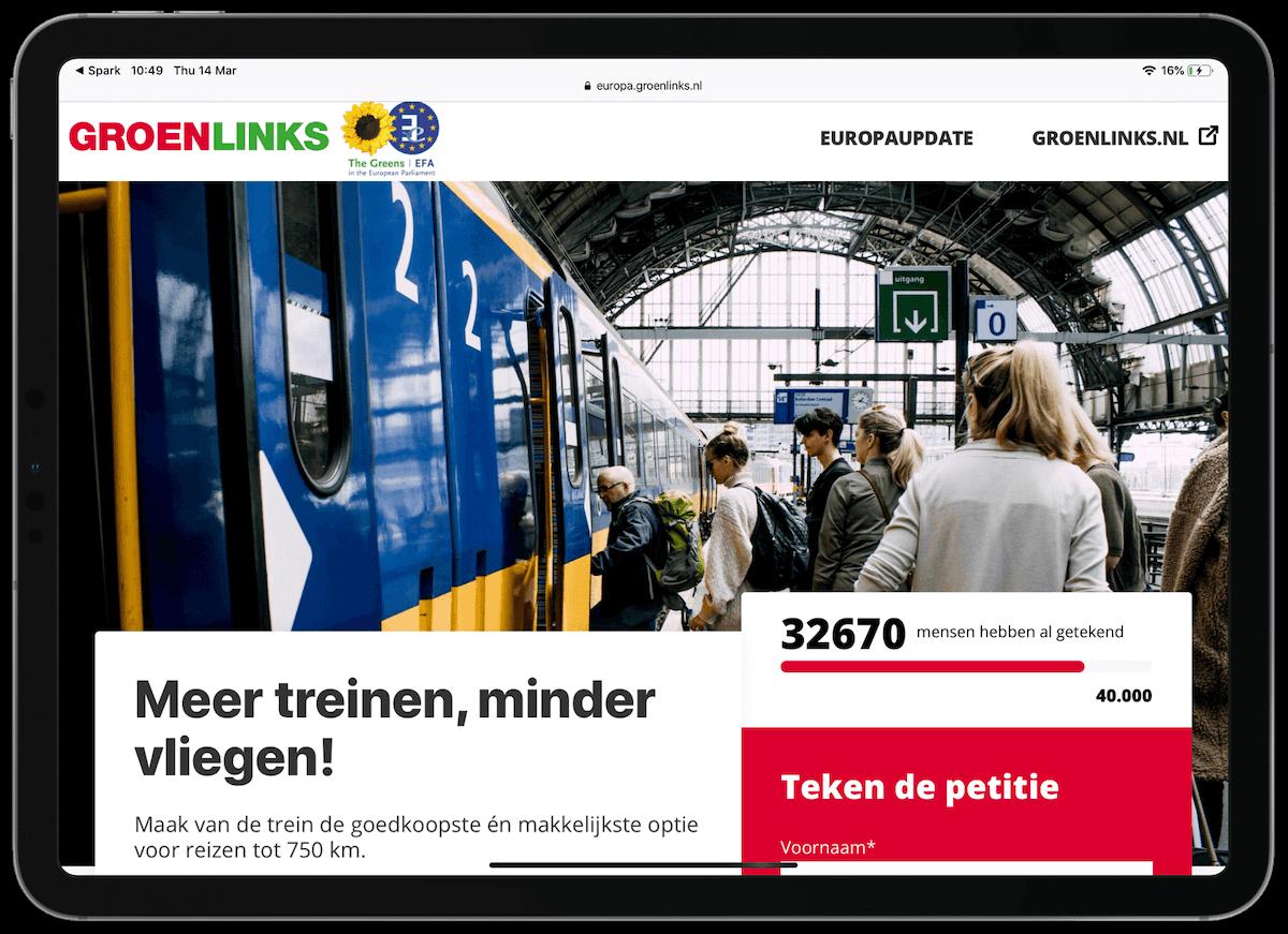 GroenLinks-petitie
