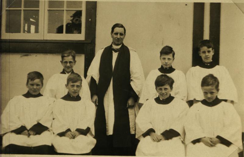 St Nicholas Church- First Rector with Choirboys.jpg