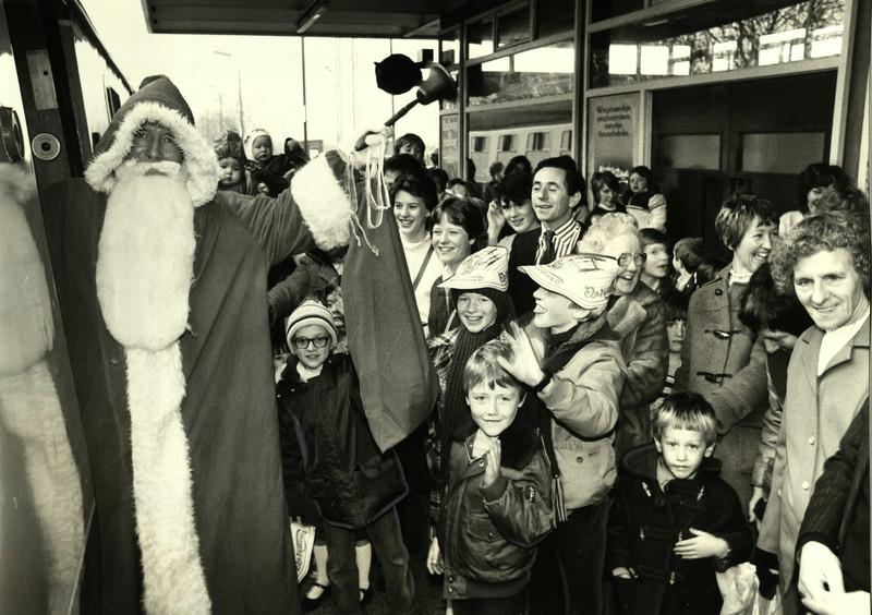 Burnage Station - St Nicholas Christmas fayre 1983.jpg