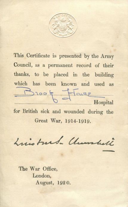 Brook House Certificate.jpg