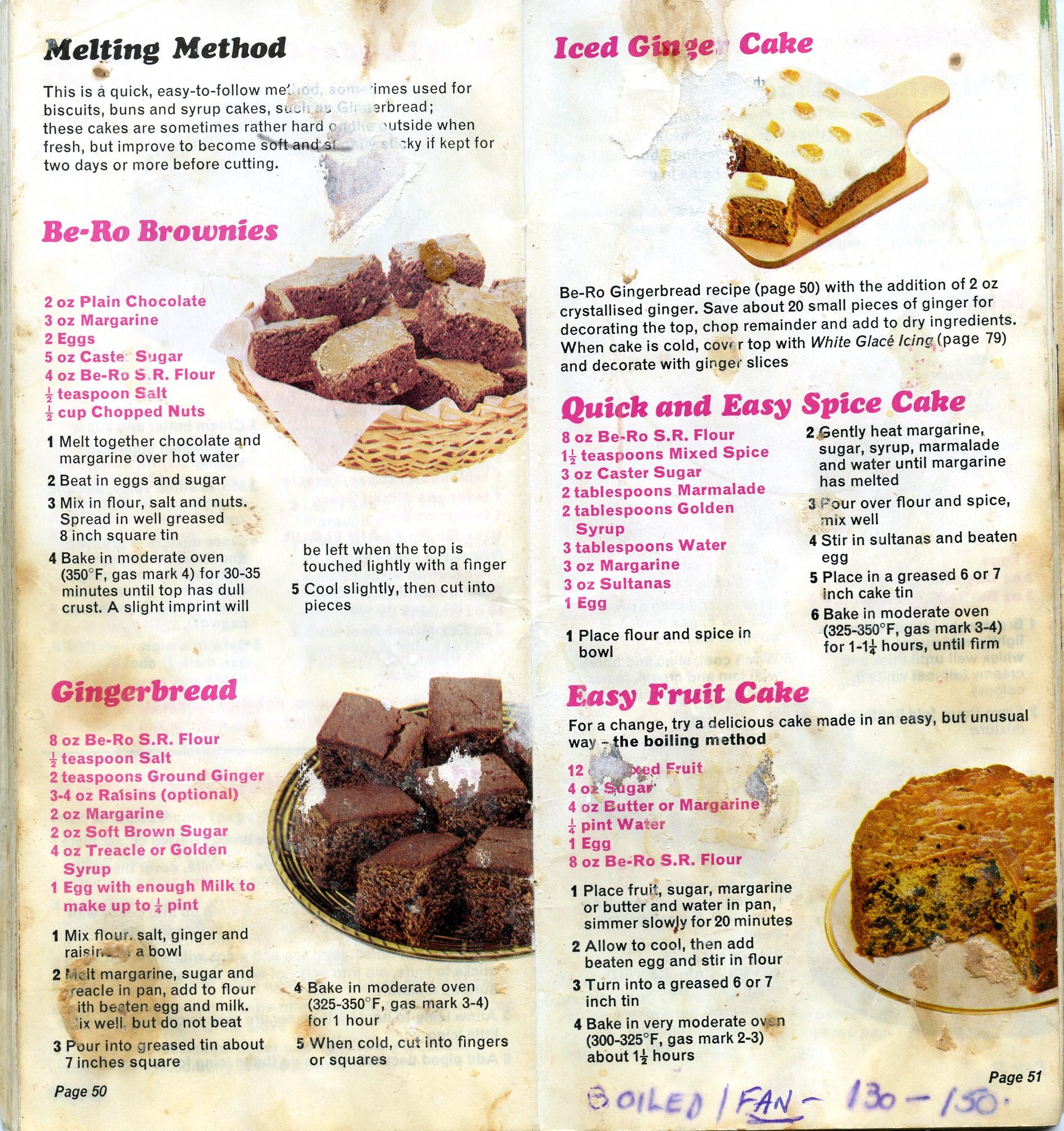 Bero Book Chocolate Cake Recipe