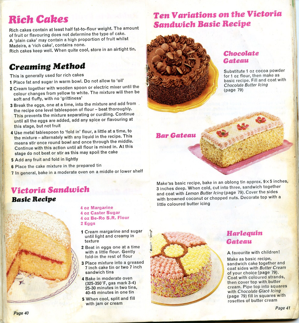 bero home baked recipes