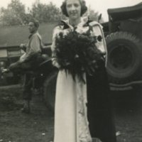 Leonora Nelson - Rose Queen at Parrs Wood Congregational Church