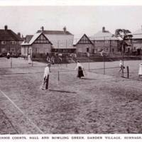 Burnage Garden Village - Tennis Courts, Hall and Bowling Green
