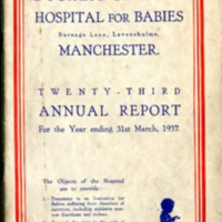 Duchess of York 23th Annual Report - 1937