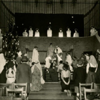 St Nicholas Church - Christmas 1950.jpg