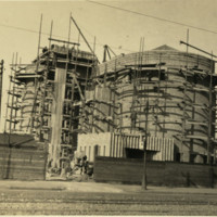 St Nicholas Church- Scaffolding at East Tower.jpg
