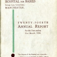 Duchess of York 24th Annual Report - 1938