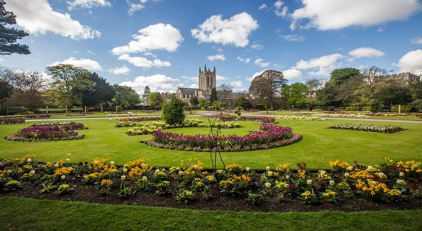 Parks and Gardens Win Green Flag Awards for 7th Year Running