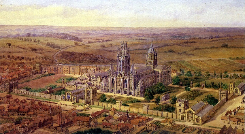 The 10 Abbots of the Abbey of St Edmundsbury