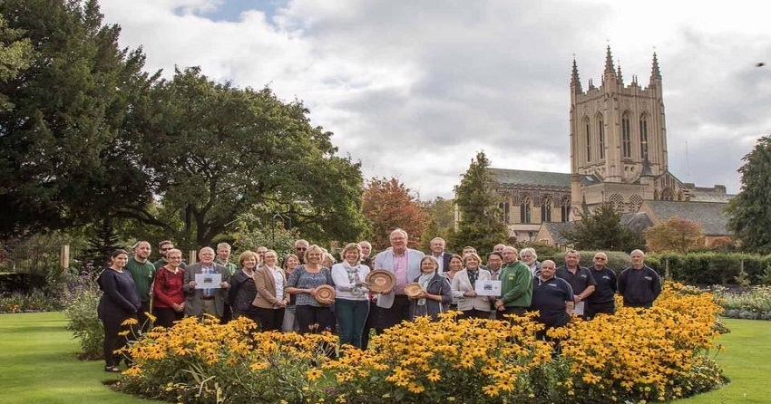 Bury St Edmunds Looks Blooming Beautiful for Britain in Bloom!
