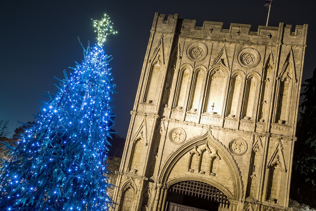 Lighting Up Bury St Edmunds for Christmas