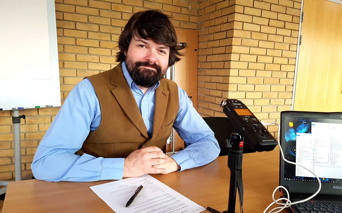 Interview with Historian Dr Francis Young