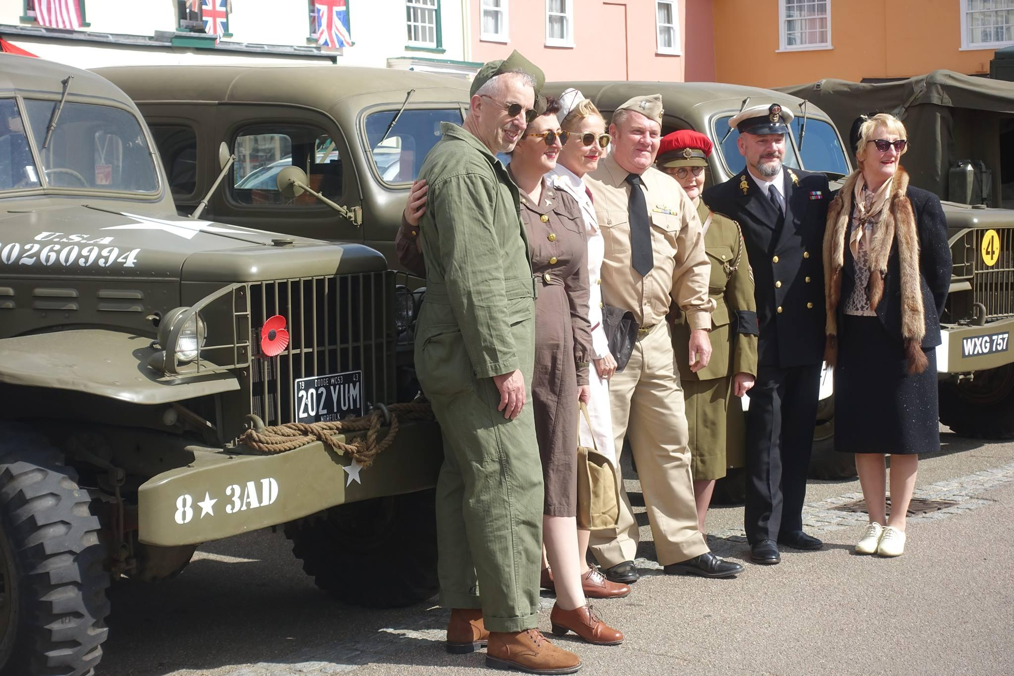 Lavenham Vintage 1940s Weekend