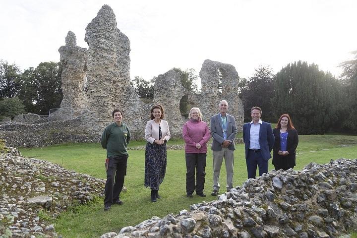 Minister for Sport and Tourism Nigel Huddleston Visits Bury St Edmunds