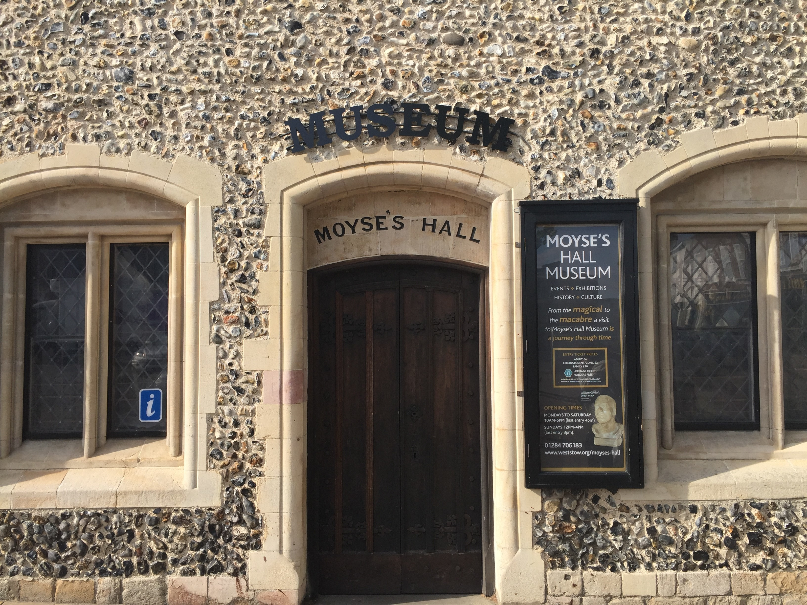 Mind the Gap Exhibition at Moyse's Hall Museum