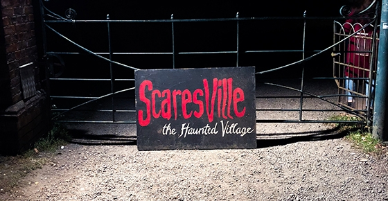 Do you dare you visit Scaresville?!