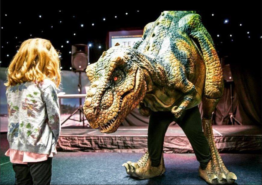 T-Rex Returns to the Cathedral