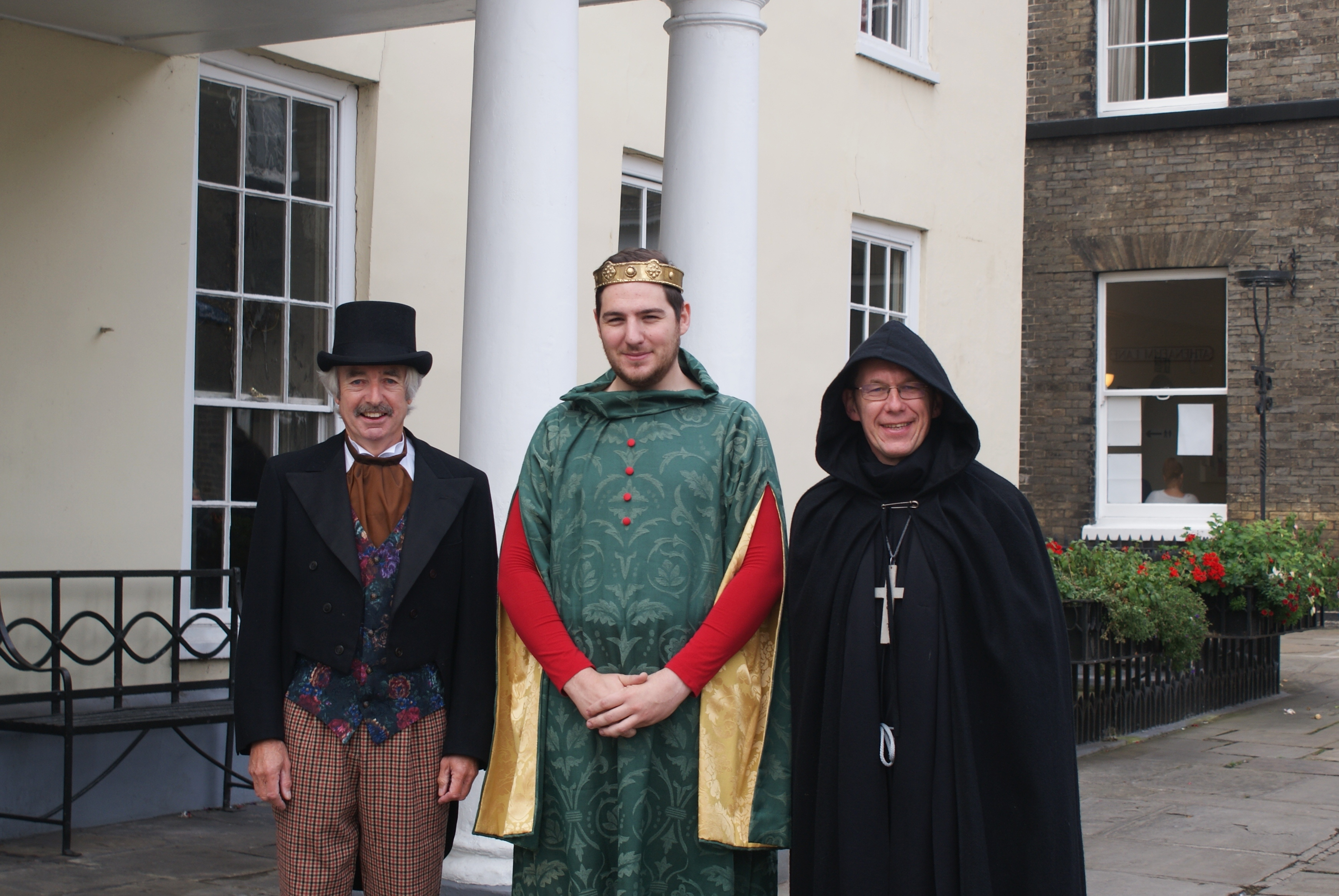 Meet Characters from Bury St Edmunds' Past at Tourism Fair!