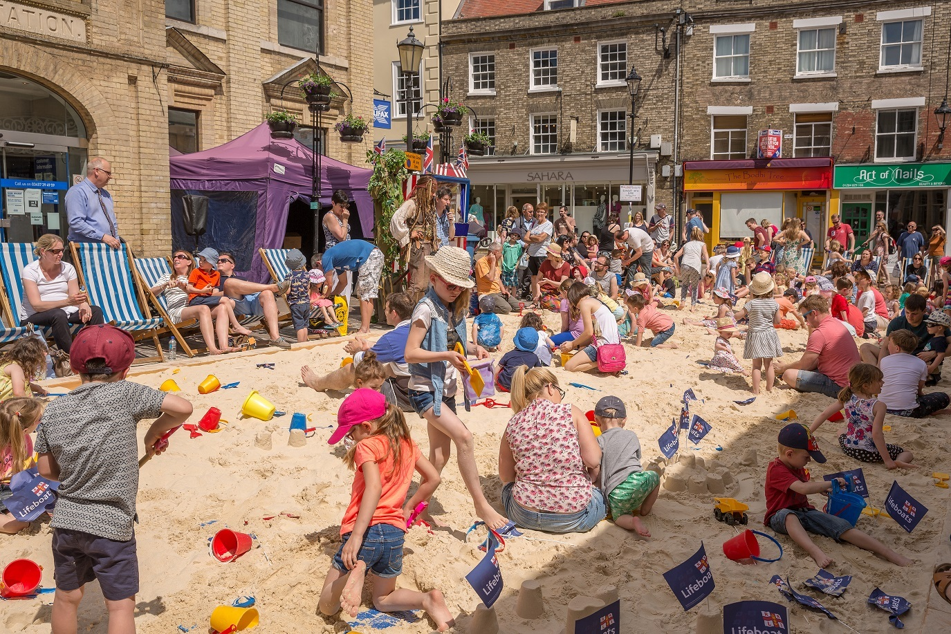 The Urban Beach is Back for Bury St Edmunds Whitsun Fayre