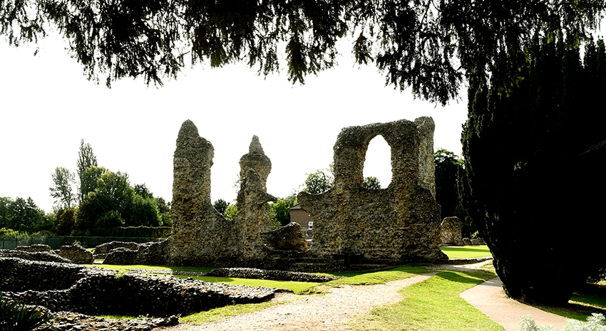 Abbey of St Edmunds Ruins