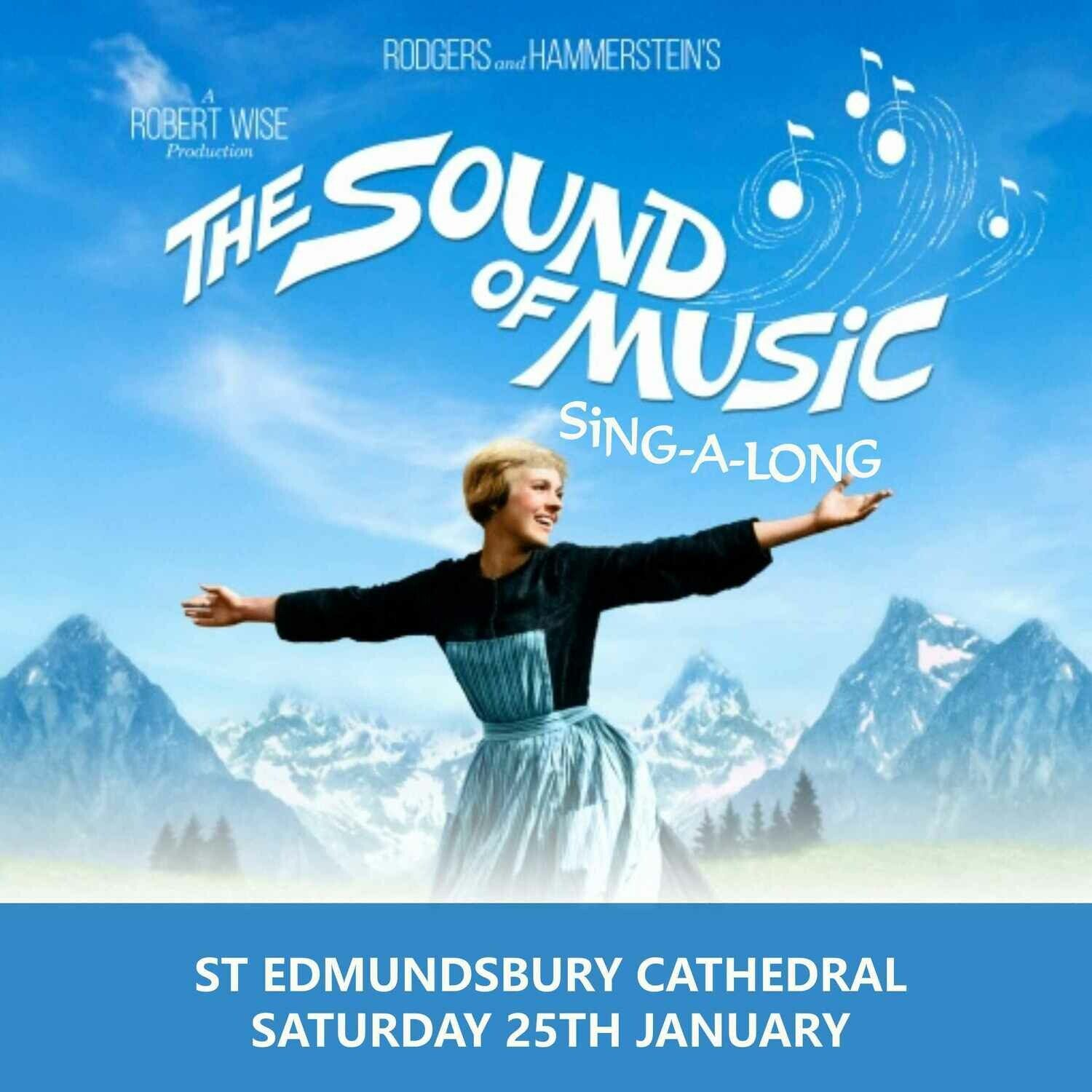 Sound of Music Sing A Long at St Edmundsbury Cathedral