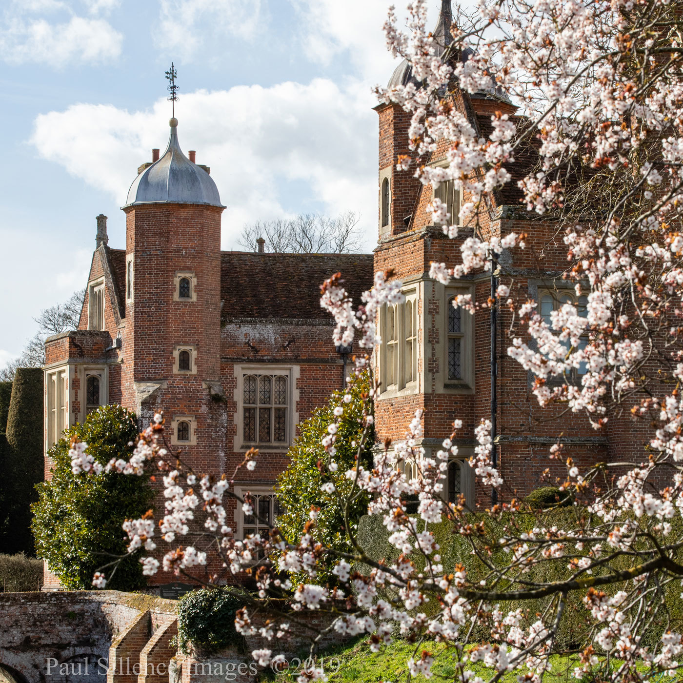 House and Garden Open at Kentwell Hall for Springtime