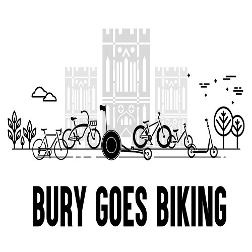 Bury Goes Biking