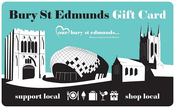 Bury St Edmunds Town Centre Gift Card Launched