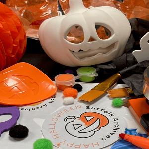 Bury St Edmunds Halloween Crafts