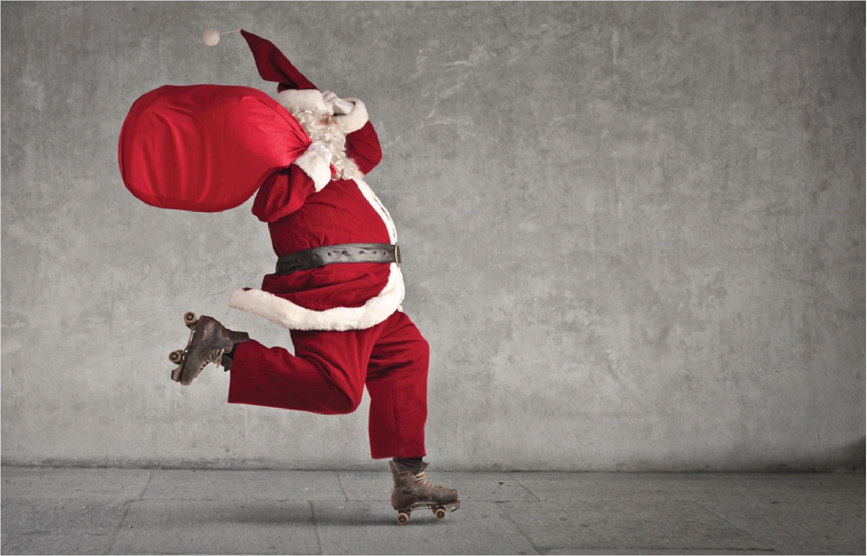 Santa Skate at CurveMotion